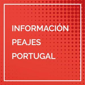 Banner peajes en Portugal