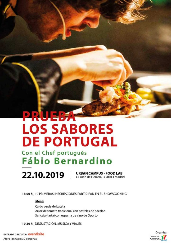 Prueba los Sabores de Portugal