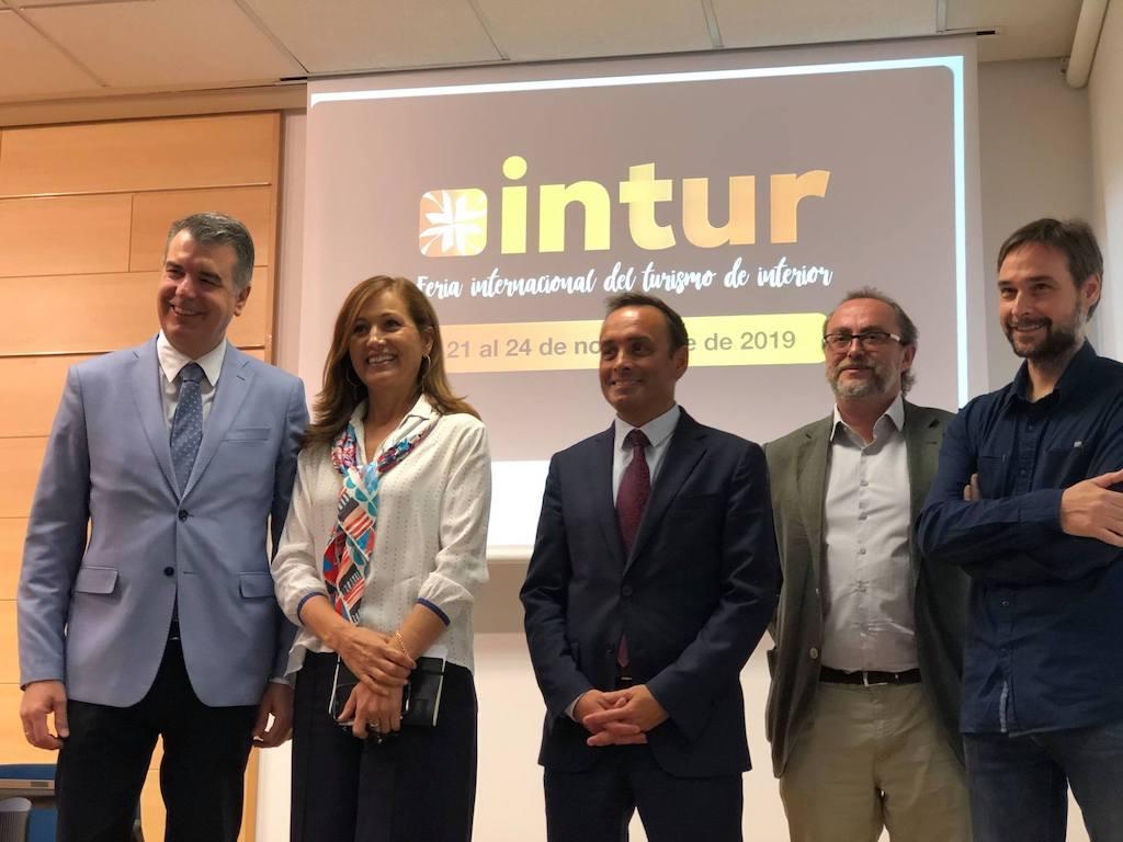 Presentación Intur 2019 con la presencia de Maria de Lurdes Vale, Directora de Turismo de Portugal en España