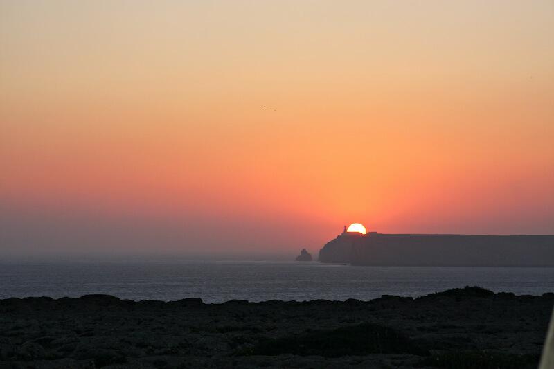 Sagres Puesta de Sol Cabo de San Vicente