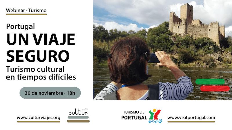 Webinar Cultur Viajes y Turismo de Portugal
